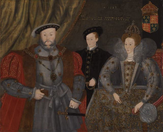 History Trivia Question: How many of Henry VIII'S six wives were crowned Queen?