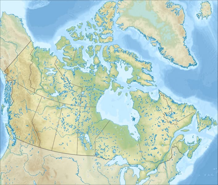 География Вопрос: Какое количество американских штатов имеет общую границу с Канадой?