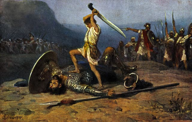 Culture Trivia Question: How tall was the giant Goliath in the story of David and Goliath?