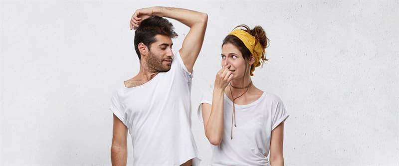 Наука Вопрос: Пот здорового человека  в обыкновенных условиях не имеет запаха. Вы согласны?