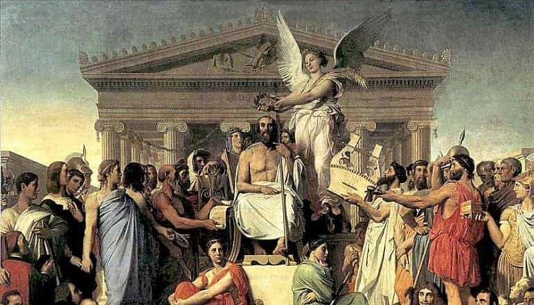 Culture Trivia Question: The Roman god Jupiter is the name for which of the following Greek Gods?