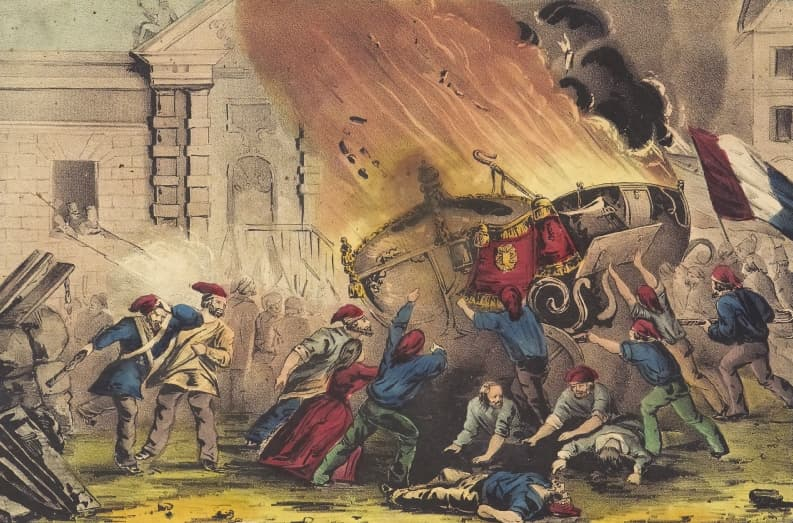 History Trivia Question: The storming of the prison in Paris known as the Bastille was the flashpoint of the French revolution. How many prisoners were freed as a result?