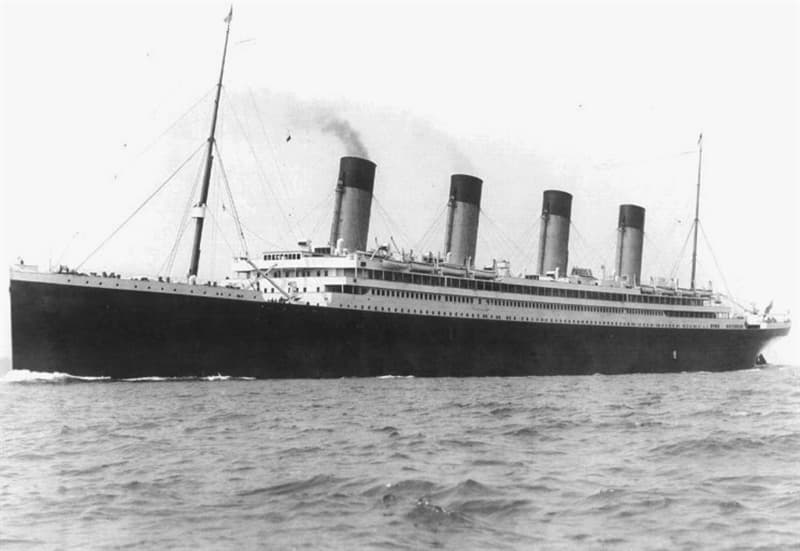 History Trivia Question: True or false: RMS Titanic's sister ship took an active part in World War 1 and sank a German U-Boat.