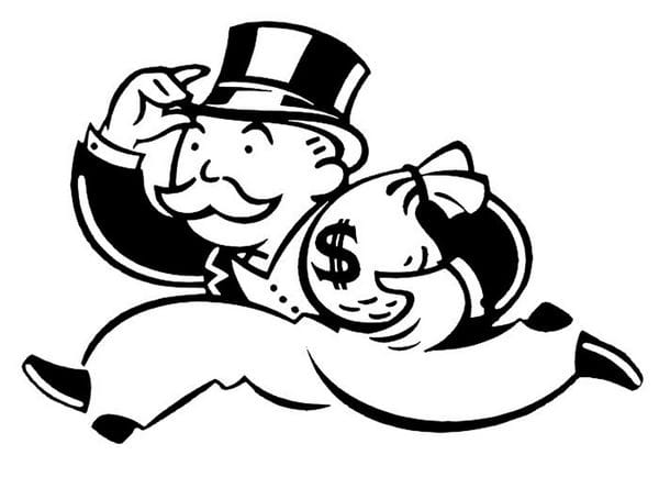 Culture Trivia Question: What is the name of the man with the mustache and top hat who serves as the mascot of the game Monopoly?