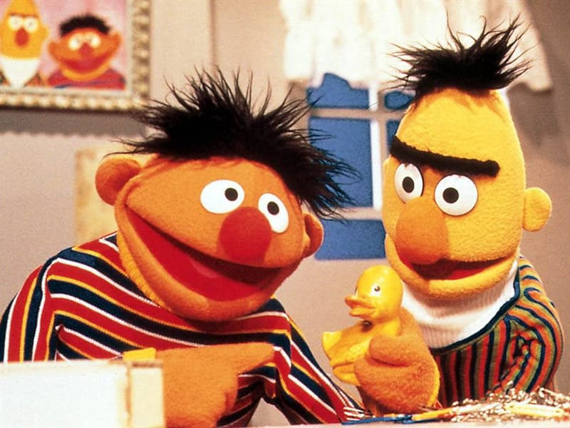"Movies & TV Trivia Question: Which two characters from Sesame Street share their names with the characters from the film ""It's A Wonderful Life""?"