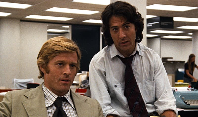 "Movies & TV Trivia Question: What year did the movie ""All The President's Men"" premiere?"
