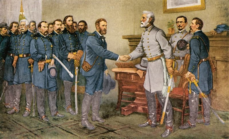 History Trivia Question: When did Confederate Gen. Robert E. Lee surrender his army to Union Gen. Ulysses S. Grant at Appomattox Court House in Virginia?