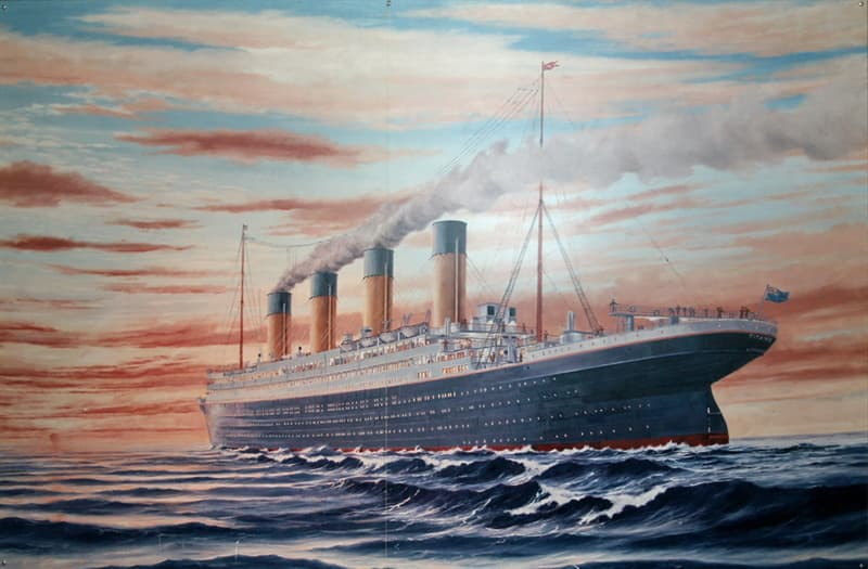 History Trivia Question: Where in the UK, were the anchors and chains for the RMS Titanic made?