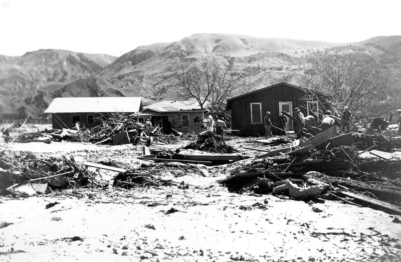 Geography Trivia Question: Where was the St. Francis Dam located?