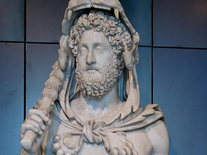 History Trivia Question: Which emperor was the father of the infamous Roman emperor Commodus?