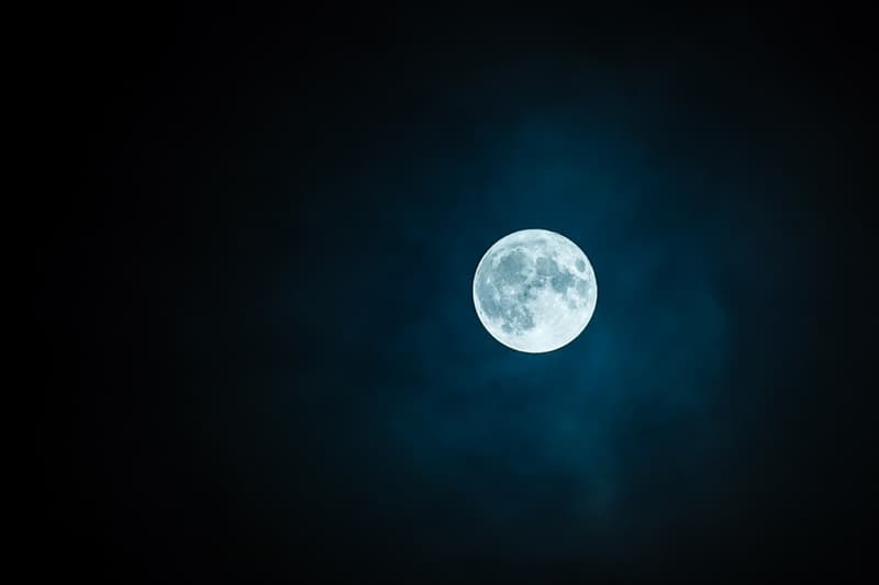 Science Trivia Question: Which of the following statements about our closest neighbor (the moon) in the sky is correct?