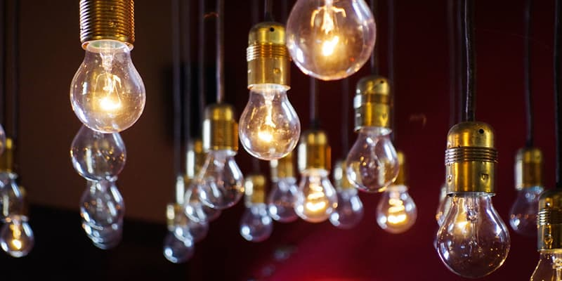 History Trivia Question: Who developed and installed the first electric lights in a New York City building?
