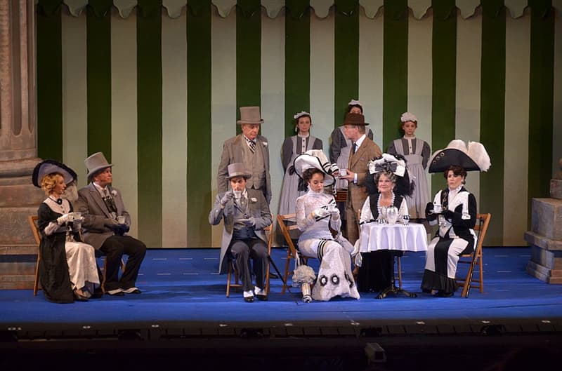 Culture Trivia Question: Who played Eliza Doolittle in the Broadway stage production of My Fair Lady?
