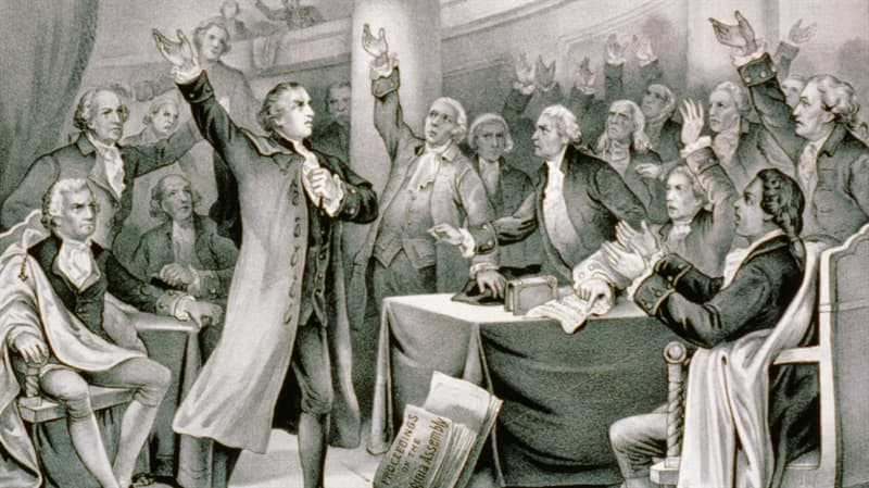 """History Trivia Question: Who said, """"Give me Liberty, or give me Death?"""""""
