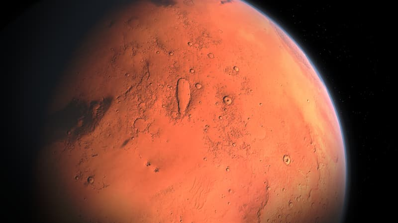 Science Trivia Question: Why does Mars appear red?