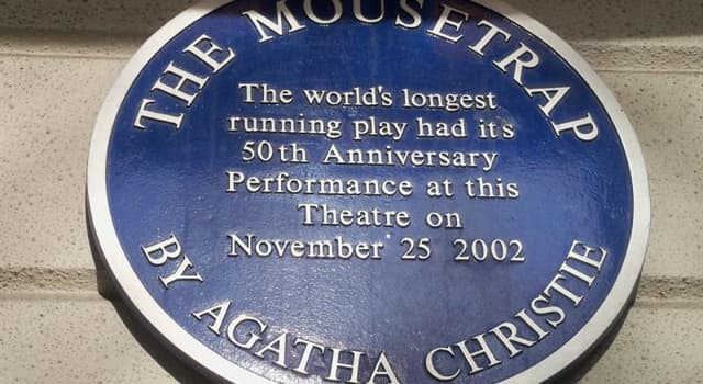 "Culture Trivia Question: ""The Mousetrap"" is the longest continuously running play ever. In which theatre did it premier?"