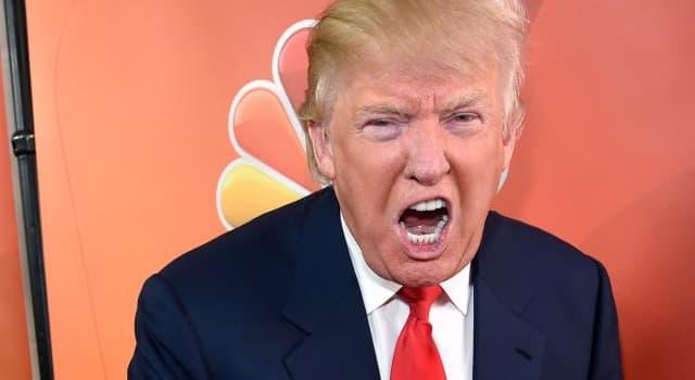 Общество Вопрос: Второе имя Дональда ( ???) Трампа?
