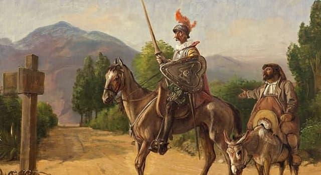 Culture Trivia Question: Who wrote Don Quixote?