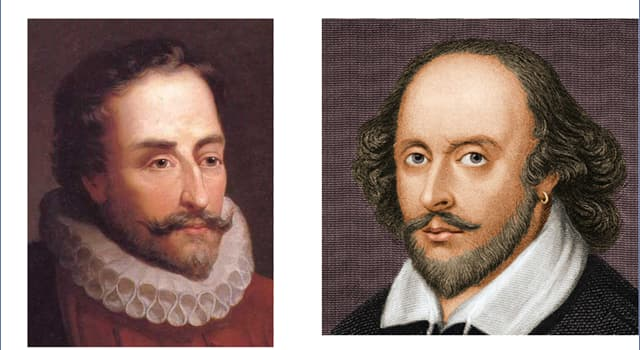 Culture Trivia Question: World Book Day (23 April) commemorates the deaths of Cervantes and Shakespeare. Did they die on the same day?