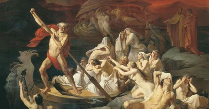 Culture Trivia Question: Who in Greek mythology is the ferryman of Hades (the underworld)?