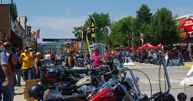 Sport Trivia Question: Motorcycle Week (or Bike Week) is held every March in which location?