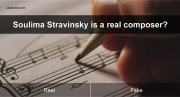 Society Quiz Test: Can you identify the real composers from the made up names?