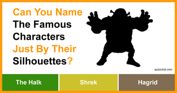 Movies & TV Quiz Test: Can You Name The Famous Characters Just By Their Silhouettes?