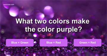 Science Quiz Test: Do You Know The Science Behind These Magical Colors?