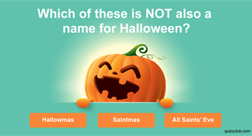 Quiz Test: How Much Do You Know About Halloween?