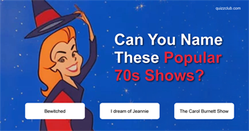 Can You Name These Popular 70s Shows?
