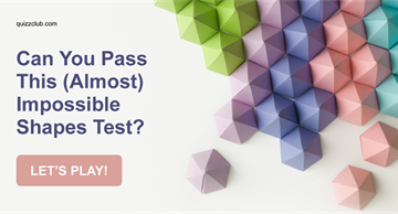 Quiz Test: Can You Pass This (Almost) Impossible Shapes Test?