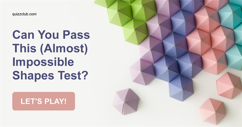 Can You Pass This (Almost) Impossible Shapes Test?
