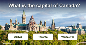 Geography Quiz Test: How much do you know about Canada?