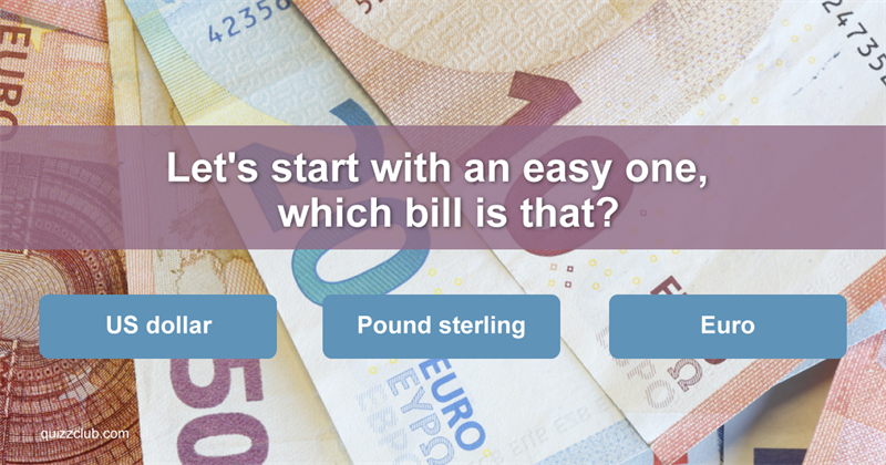 Test: Only 3% Of People Can Name All Of These Bills And Coins!