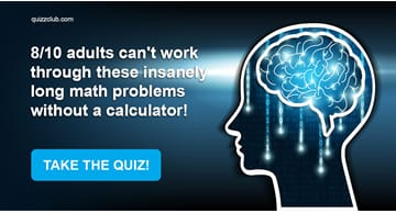 Quiz Test: 8/10 Adults Can't Work Through These Insanely Long Math Problems Without A Calculator!