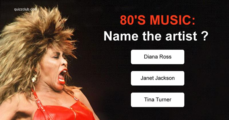 Quiz Test: 80's music: Name the artist
