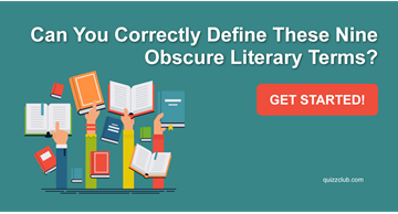 Quiz Test: Can You Correctly Define These Nine Obscure Literary Terms?