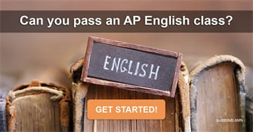 Quiz Test: Can You Pass An AP English Class?