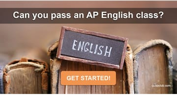 language Quiz Test: Can You Pass An AP English Class?