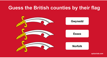 Geography Quiz Test: Guess the British counties (and some cities) by their flag