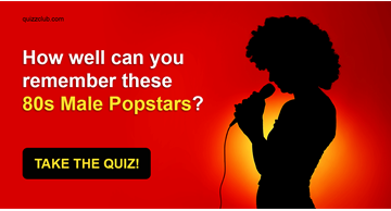 Quiz Test: How Well Can You Remember These 80s Male Popstars?