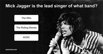 Quiz Test: How Well Do You Know These Lead Singers?