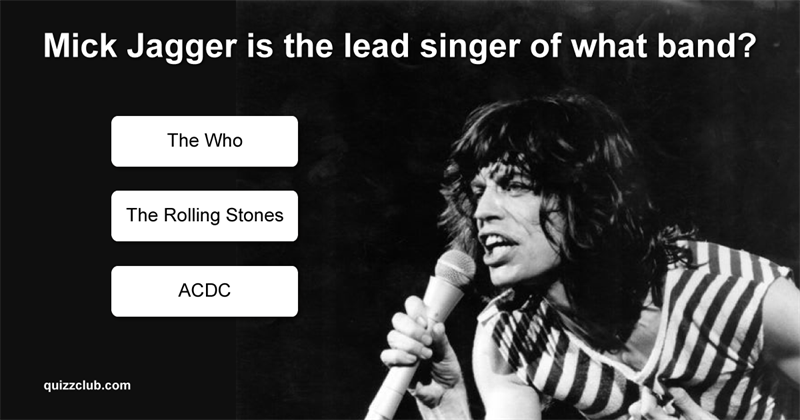 Test: How Well Do You Know These Lead Singers?