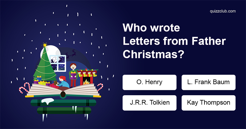 Quiz Test: Only Literary Experts Can Name The Authors Of Each Of These Classic Holiday Books!