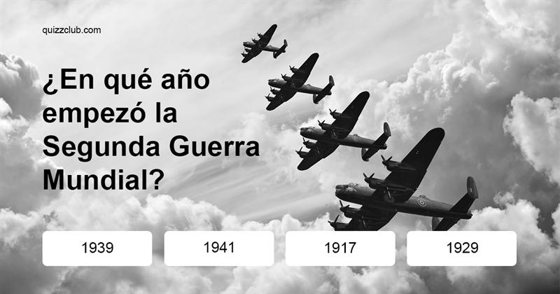 Historia Quiz Test: ¿Qué tan bien conoces la historia mundial?