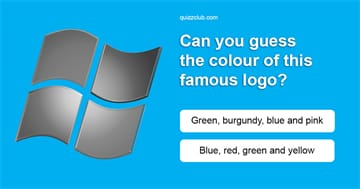 Quiz Test: Can You Guess The Color Of These Famous Logos?
