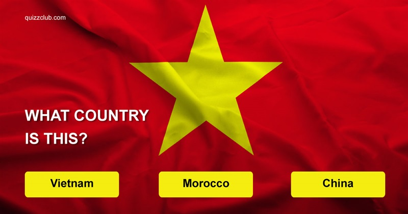 Geography Quiz Test: Can You Guess The Country By Its Flag?