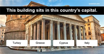 Geography Quiz Test: Can you guess the European country with a single hint?