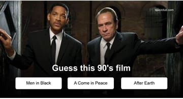 Movies & TV Quiz Test: Can You Guess These 90's Films?