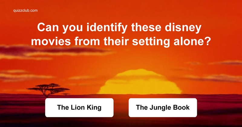 Movies & TV Quiz Test: Can You Identify These Disney Movies From Their Setting Alone?